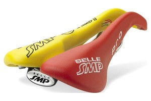 Siodło SMP PRO red/yellow - TEST