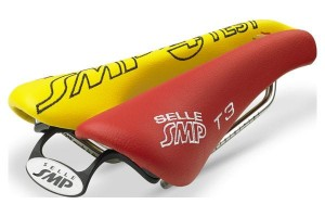 Siodło SMP TRIATHLON T3 red/yellow - TEST