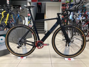 "3T Exploro FM LTD Sram Force czrny mat ""L"""