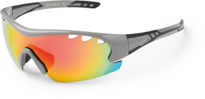 Kross OKULARY DX-PRO 2 GRAY BLACK